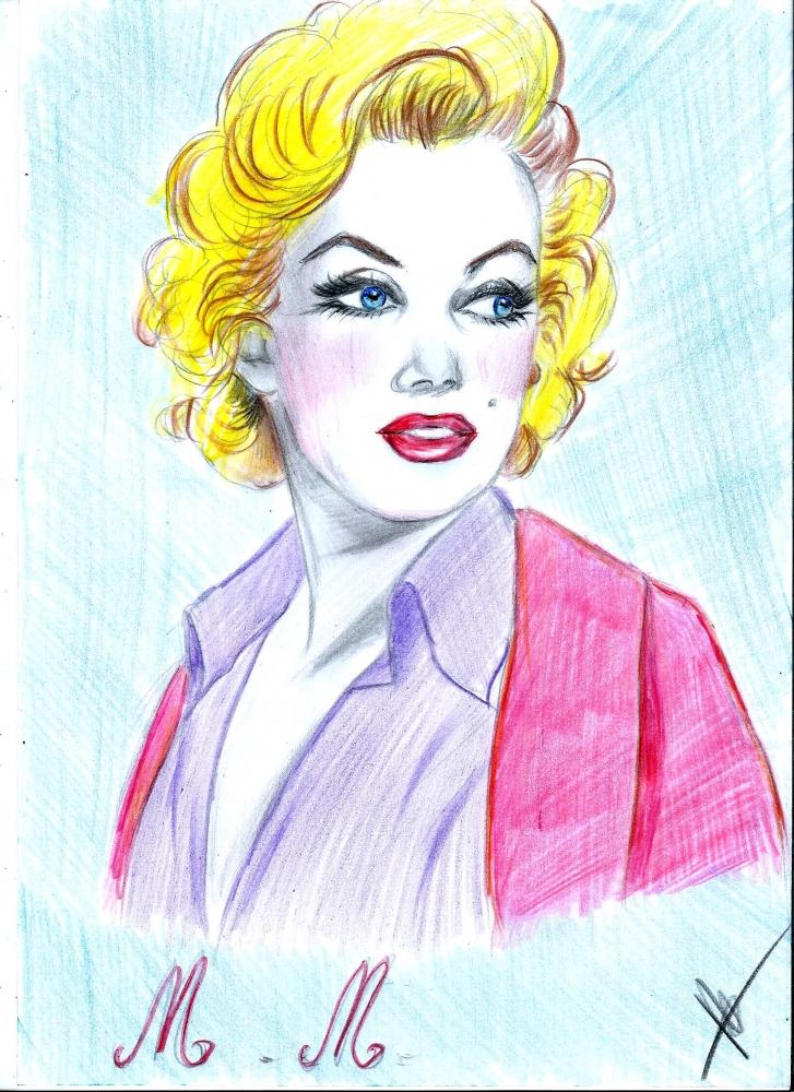 Marilyn Monroe by isabella1988